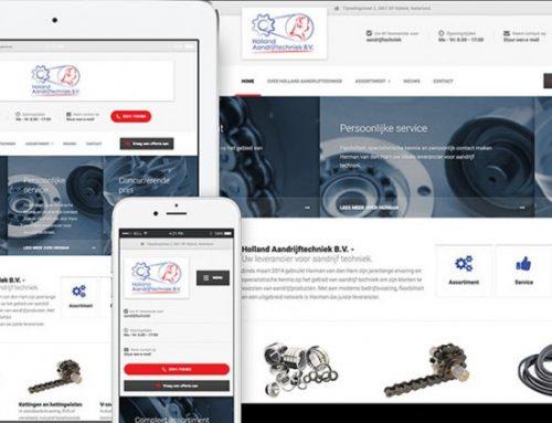 Holland Aandrijftechniek Website