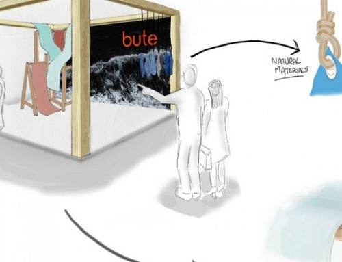 Beursstand Trap Project & Furniture Fabrics